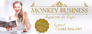 Monkjey Business kavarna de luxe