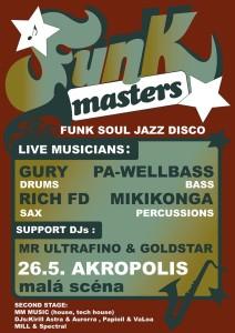 funkmasters kveten207